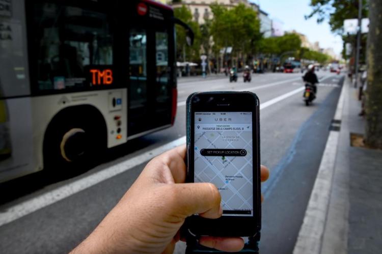 Uber proibida em Portugal
