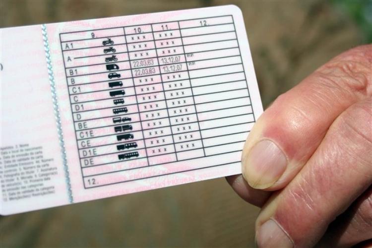Cartas de condução emitidas em cinco dias